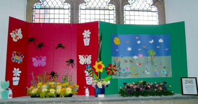 Messy Church Flowers